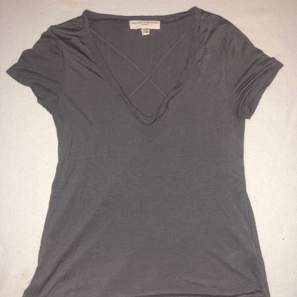 Urban Outfitters Tops - Urban Outfitters Charcoal Gray T-shirt